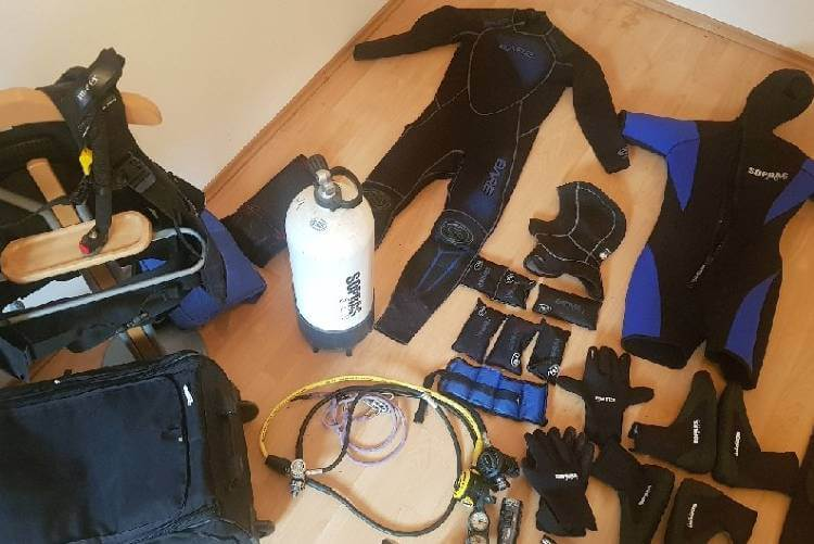 how much does scuba diving cost