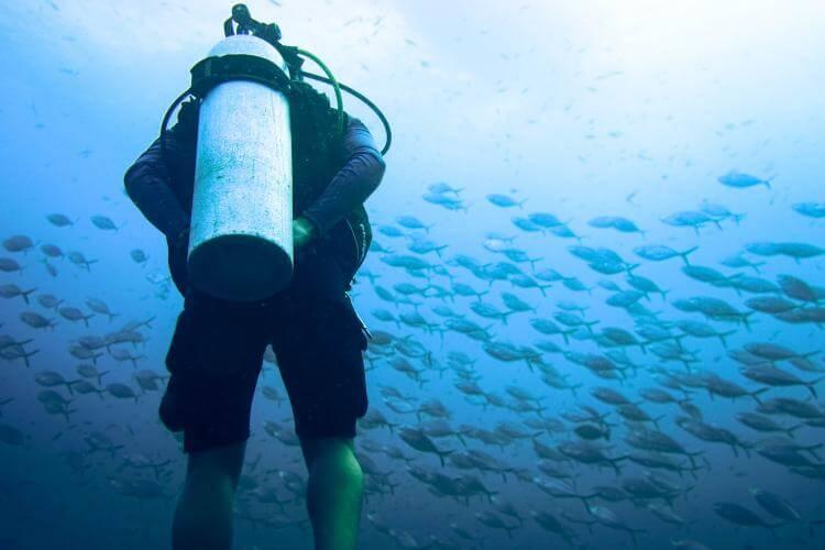 ascending in scuba diving
