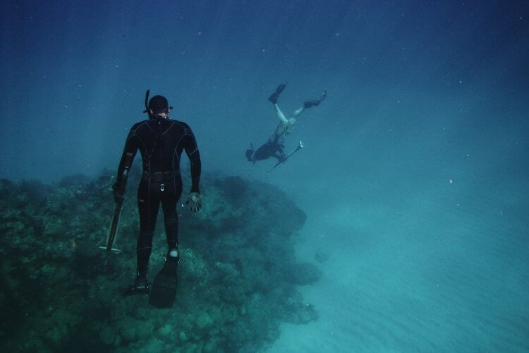 types of scuba diving