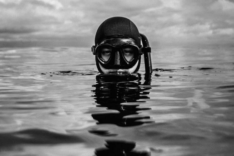 smoking and diving