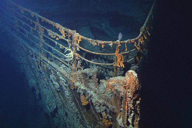 scuba diving to the titanic?