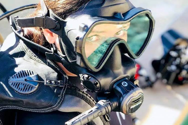 best full face diving mask