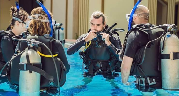 scuba diving regulator octopus