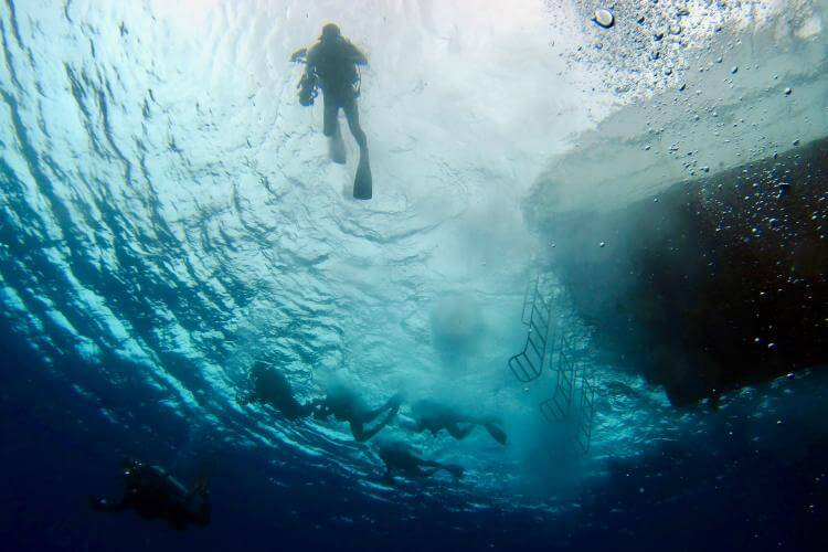 scuba diving in saltwater vs freshwater